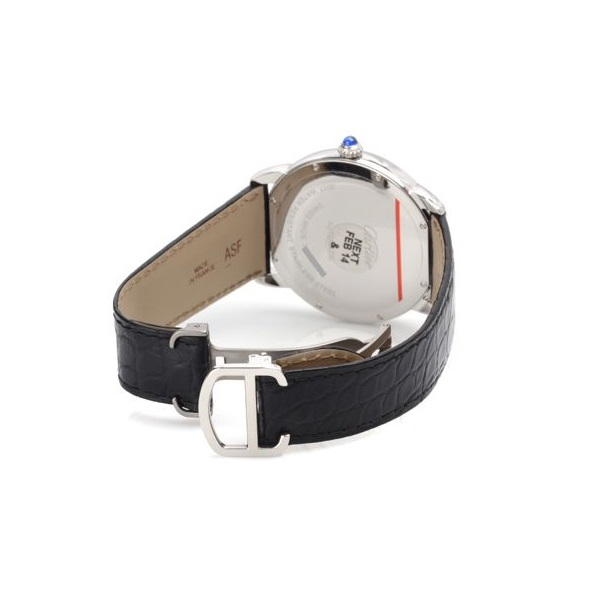 CARTIER/卡地亚伦敦SOLO系列男士自动机械腕表 W6701010