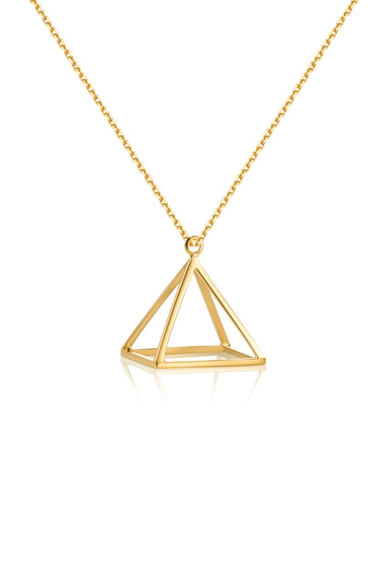 设计金饰 金字塔系列长项链