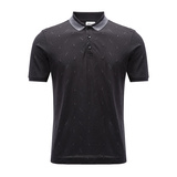 ARMANI COLLEZIONI/阿玛尼卡尔兹男士T恤-男士黑色T恤