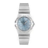 OMEGA/欧米茄 星座系列 钻石刻度 石英女表 123.10.24.60.57.001