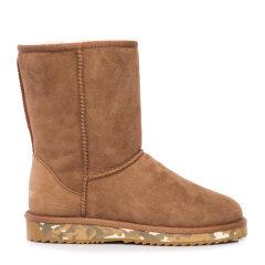 COZY STEPS/COZY STEPS羊皮毛一体雪地靴女士靴子    图片