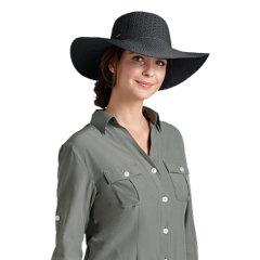 Coolibar 多国防晒机构认证 抗压易携带防变形 宽檐女士遮阳帽 UPF50+图片