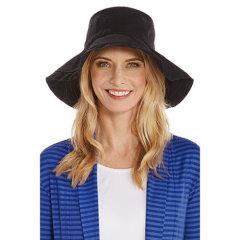 Coolibar 多国防晒机构认证 Keywest 可折叠易携带女士遮阳帽 UPF50+图片