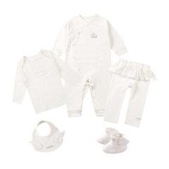 Anne Geddes/安妮.格迪斯 天使系列 新生儿礼盒套装5件套 151017 女宝图片