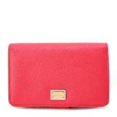 【可用劵】Dolce&Gabbana/杜嘉班纳钱包-女士西瓜红时尚皮票夹 材质:牛皮图片