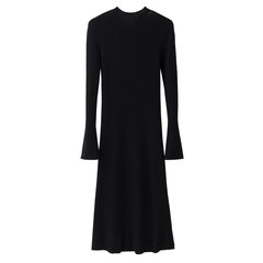 【DesignerWomenwear】LER/子时2018年春季新品羊毛针织女士连衣裙图片