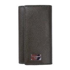【包税】DOLCE&GABBANA 杜嘉班纳 女性牛皮长款卡包 卡夹 手包 钱夹 钱包 钥匙包 褐色170303褐色图片