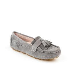 Ozwear ugg/Ozwear ugg  女士休闲运动鞋  春夏新款 猪巴革 防泼水 隐形高跟流苏豆豆鞋图片