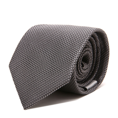 ARMANI COLLEZIONI/阿玛尼卡尔兹领带-男士经典黑色领带图片
