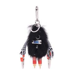 PRADA/普拉达女士钥匙扣17年新款机器人小型皮具1TR图片