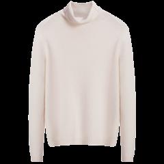 【可用券】ERDOS/鄂尔多斯 18秋冬新品纯色高领羊绒套衫女士针织衫/毛衣图片