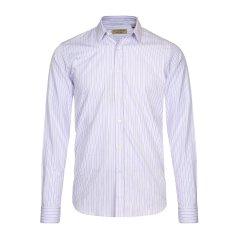 BURBERRY/博柏利  粉色条纹男士长袖衬衫 男装 80001141图片