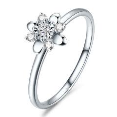 DEMONE/黛慕妮  18K金钻石戒指钻戒女图片