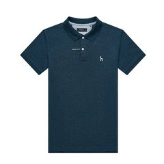 HAZZYS/哈吉斯 2019夏装新款简约活力男士短POLO衫休闲T恤ASTZE09BX02图片