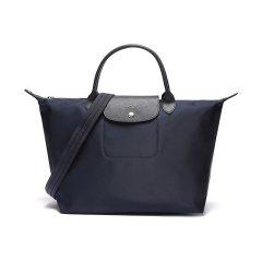 Longchamp/珑骧女士LePliageNéo系列织物中号短柄手提包单肩包1515578545图片