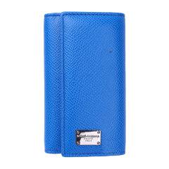 【包税】DOLCE&GABBANA 杜嘉班纳 女性牛皮长款卡包 卡夹 手包 钱夹 钱包 钥匙包 褐色170303蓝色图片