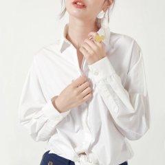 YAWANG CHEN/YAWANG CHEN女装>女士衬衫>女士长袖衬衫图片