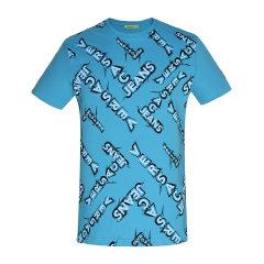 VERSACE JEANS/范思哲牛仔 圆领纯棉字母印花短袖T恤 B3GNB726   男士短袖T恤图片