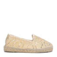MANEBI金色女士乐福鞋图片