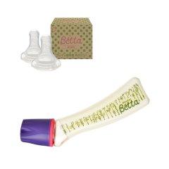 【包税】Betta/贝塔 宝宝智能系列S5奶瓶-PPSU-240ml 0-1/1-3/3-6/6个月以上适用 日本原装 温柔呵护图片
