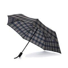 MARJA KURKI/玛丽亚古琦 英伦风自动伞 商务男士雨伞 轻巧便携格纹遮阳防晒 285克 带礼盒图片