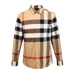 BURBERRY/博柏利格纹男士长袖衬衫 8004828图片