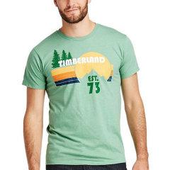 【包税】Timberland/添柏岚  户外男士纯色字母图案圆领休闲T恤 TB0A3K4S图片