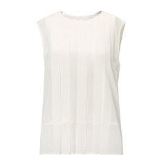 【17春夏新品】MaxMara/麦丝玛拉 莱赛尔纯色背心 女士短袖T恤  VEBER59410467图片