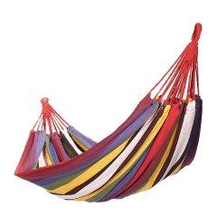 loyo/乐游 户外单人休闲吊床 浪漫帆布1人型沙滩旅游 配绳无棒图片