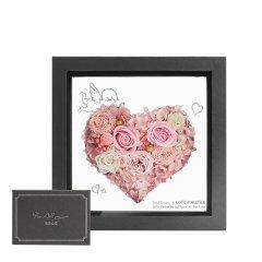 JoyFlower情人节礼物进口永生玫瑰花礼盒-爱恋系列-一箭穿心图片