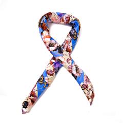 SAINTJOY/上久楷 桑蚕丝  春夏款 女士真丝方巾 围巾披肩 生机系列 FJ6201图片