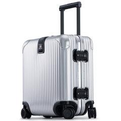 LIEMOCH/利马赫 智能防盗其它材质不锈钢密码登机箱18寸 TSA海关锁行李旅行箱中性款式其他材质金属青年拉杆箱图片