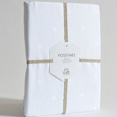 fossflakes进口 全棉单双人床单 230*240cm  全棉缎纹 欧洲母婴A级图片