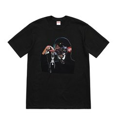 Supreme 19SS Creeper Tee 黑衣人相机爬行人眼镜人短袖T恤图片