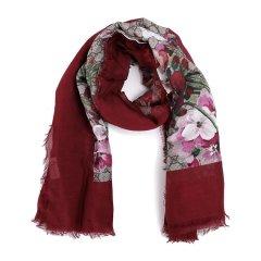 GUCCI/古驰 【18新品】女士经典款印花丝巾 417424 丝巾图片