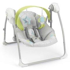 CAM/贝贝亲 意大利原装进口 智能电动摇篮床婴儿摇椅哄娃睡觉音乐摇摇椅幼儿摇篮床安抚椅S345图片