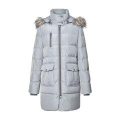 ANDREW MARC/ANDREW MARC新款女士羽绒服中长款常规立领拉链女外套图片