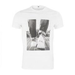 ARMANIJEANS/阿玛尼牛仔 男士T恤-AJ新款 个性印花图案纯棉 黑白两色可选-男士短袖T恤 3Y6T136JOAZ图片