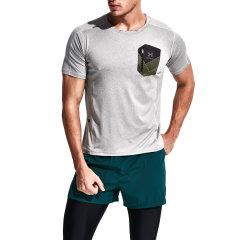 后秀/HOTSUIT 17年速干运动短T恤男弹力快干跑步训练透气健身T恤56092001图片