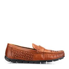 TIMOTHY&CO./迪迈奇 男士乐福鞋局部手工编制的方法装饰 TMZ710106图片
