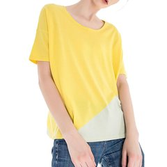 Zynni Cashmere/臻尼羊绒女士针织衫/毛衣薄款宽松纯绒短袖衫 SJ7197图片