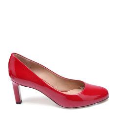 Salvatore Ferragamo/菲拉格慕牛漆皮材质简约女士细跟高跟鞋图片