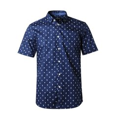 【DESIGNER MENWEAR】JEFF BANKS/杰夫班克斯2019春夏新品男士短袖衬衫男衬衣短袖图片