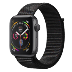 APPLE/苹果 Apple Watch Series 4 GPS款 S4智能手表 铝金属表壳(40mm/44mm 多款可选 ) 运动型表带【原封国行正品】图片