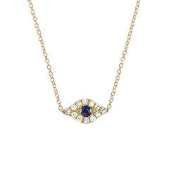 EF Collection 好莱坞明星同款女式DIAMOND系列恶魔眼钻石短项链DIAMOND EVIL EYE CHOKER EF-60246图片