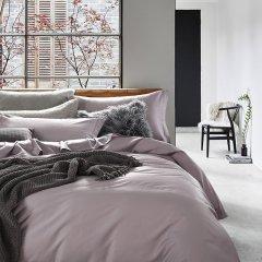 LENCIER兰叙 莱顿 北欧60支纯色长绒棉四件套被套全棉床单 床单款图片