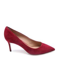 Salvatore Ferragamo/菲拉格慕牛皮材质尖头设计女士细跟高跟鞋图片
