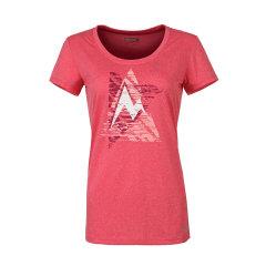 marmot/土拨鼠2018新款户外防紫外线速干吸湿排汗女圆领T恤S48410   紫外线防护指数UPF25图片