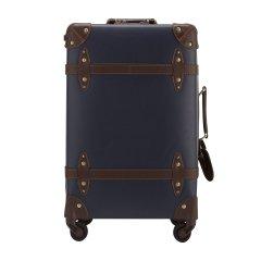 ELLE/ELLE复古系列 条纹 中性款式 PP+PVC拉杆箱行李箱ELCL5524-23(23寸)图片