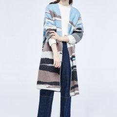 【DesignerWomenwear】LER/子时中长款外套女士针织衫/毛衣图片